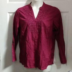 Women's button down shirt size XL